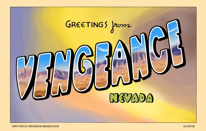 Vengeance, Nevada Is Back With Issue #4